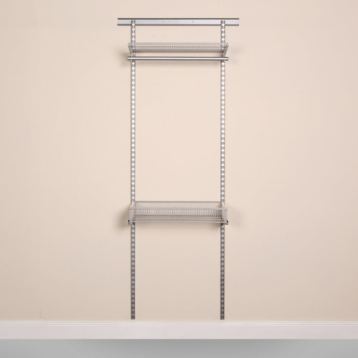 Frame of the Laundry and Utility Organisation Kit 1 in Platinum Grey