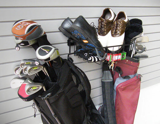 Golf Club Rack and Basket