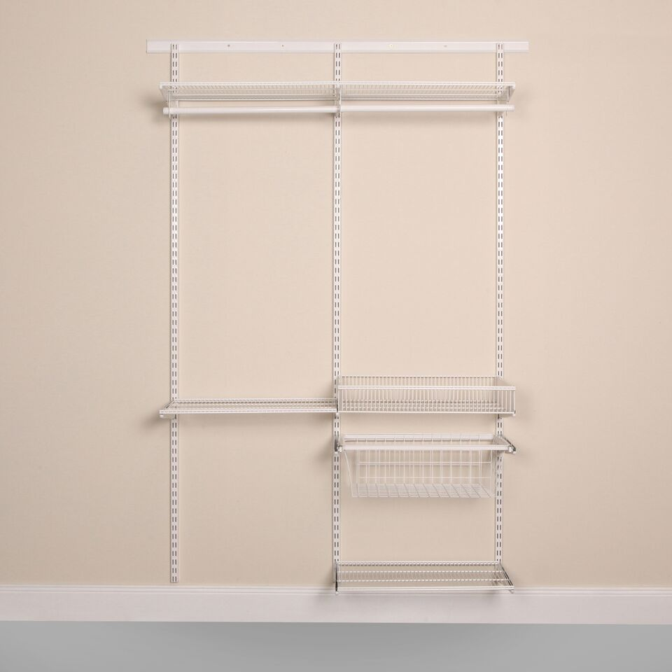 Frame of the Laundry and Utility Organisation Kit 3 in Classic White