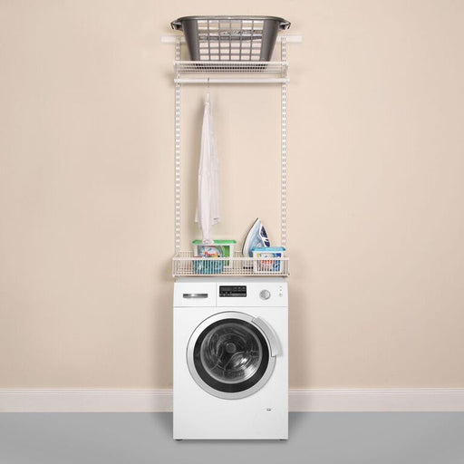 Laundry and Utility Organisation Kit 1 in Classic White