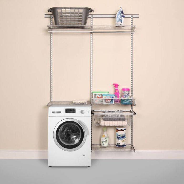 Laundry and Utility Organisation Kit 3 in Platinum Grey