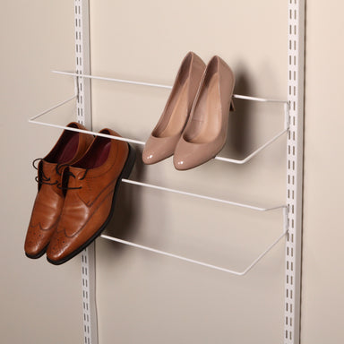 Shoe Shelf in Classic White