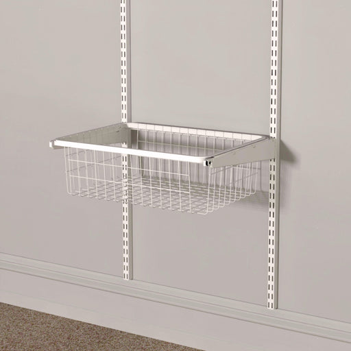 Pull Out Wire Basket Classic White