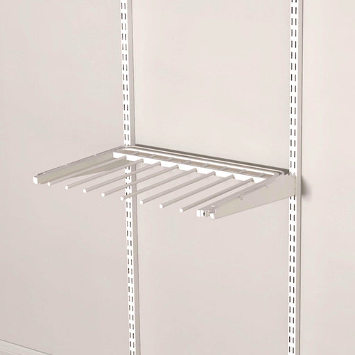 Pull Out Trouser Shelf Classic White