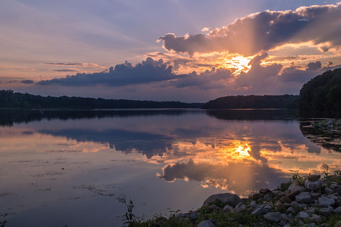 Kiser Lake State Park in Ohio