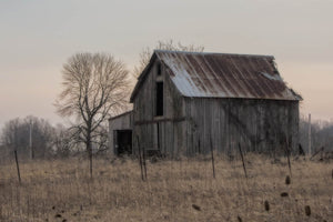 An Old Ohio Barn