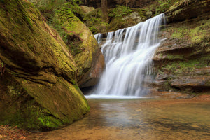 Upper Falls Hocking Hills Ohio Photography