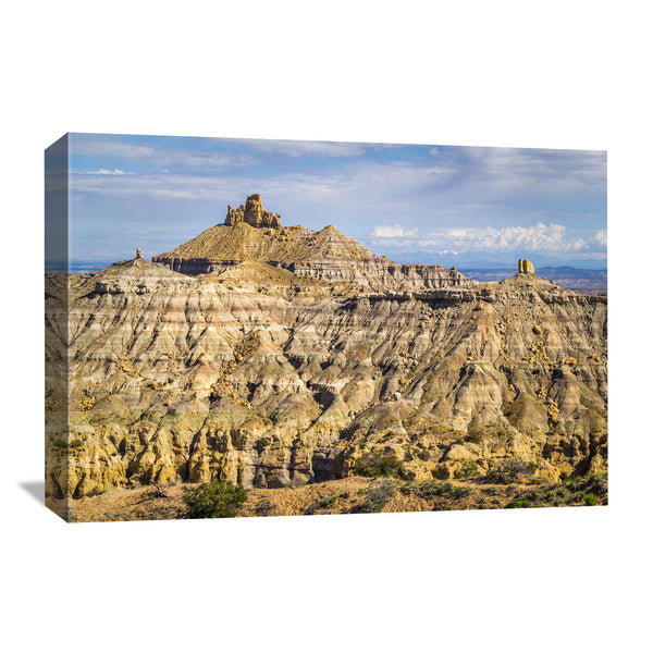 angel peak new mexico canvas wall art