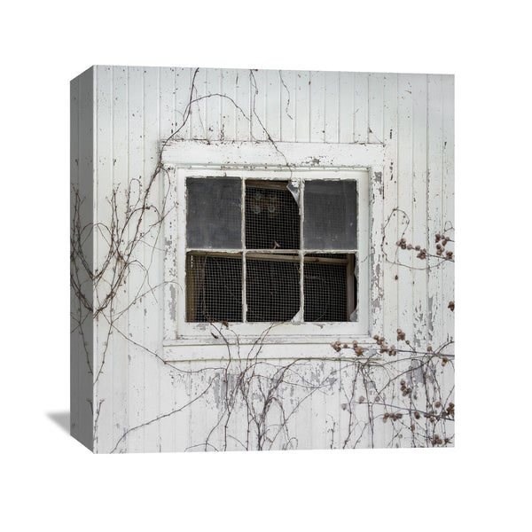 barn window canvas wall art