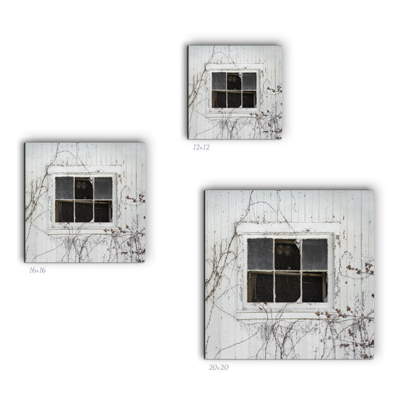 Barn Window Canvas