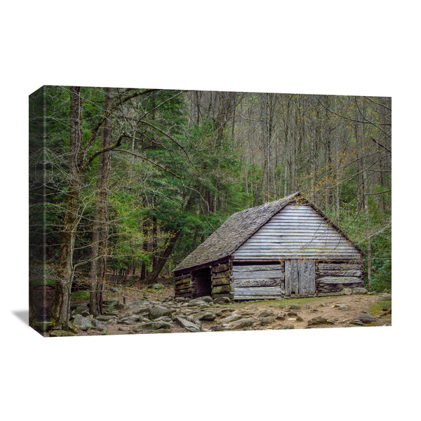 Appalachian barn canvas wall art