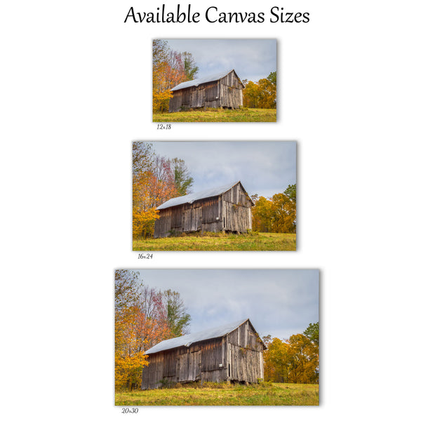 Chapel Ridge Barn Canvas