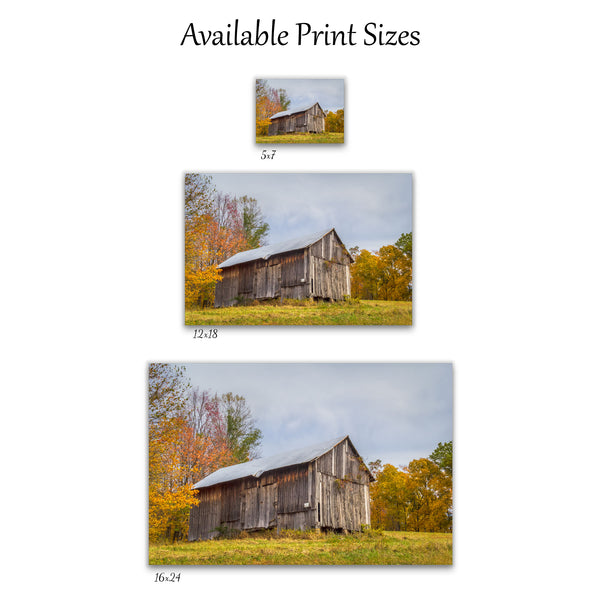 Chapel Ridge Barn Print