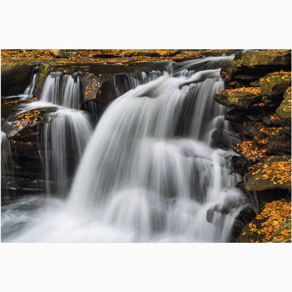 Dunloup Waterfalls Nature Photography Print
