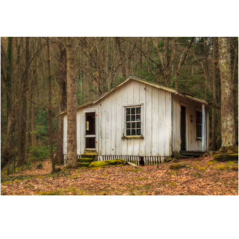 cottage at elkmont in the smoky mountains of tennessee