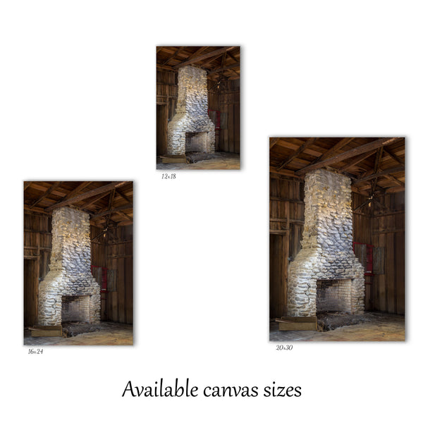 Elkmont Fireplace Canvas