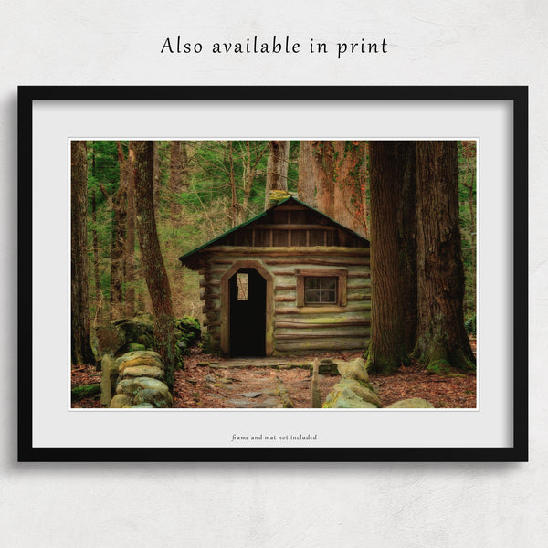 Fairy Cottage Canvas