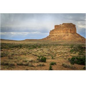 Fajada Butte at CChaco Culture National Park in New Mexico