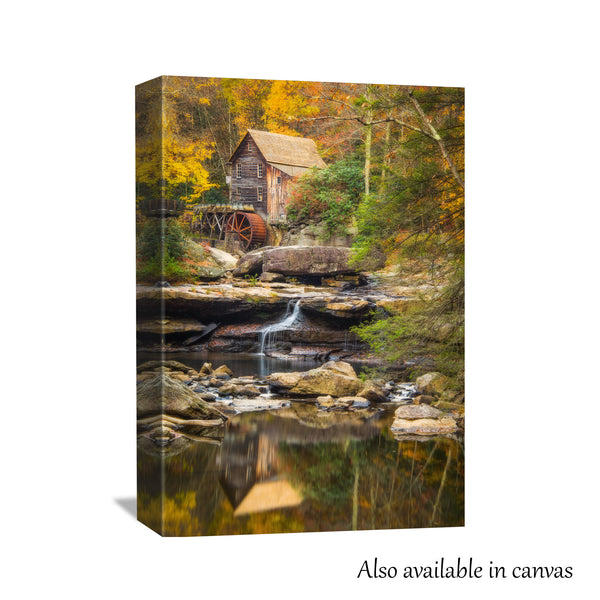 Glade Creek Grist Mill Print