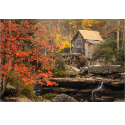 glade creek grist mill in west virginia