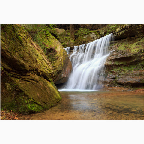 waterfall hocking hills ohio