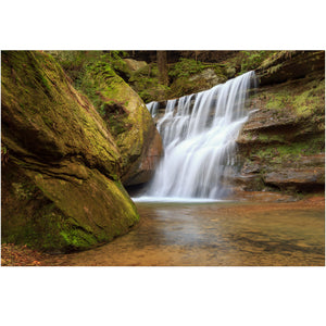 hocking hills ohio waterfall photography