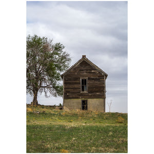 old schoolhouse on the kansas prairie photography art
