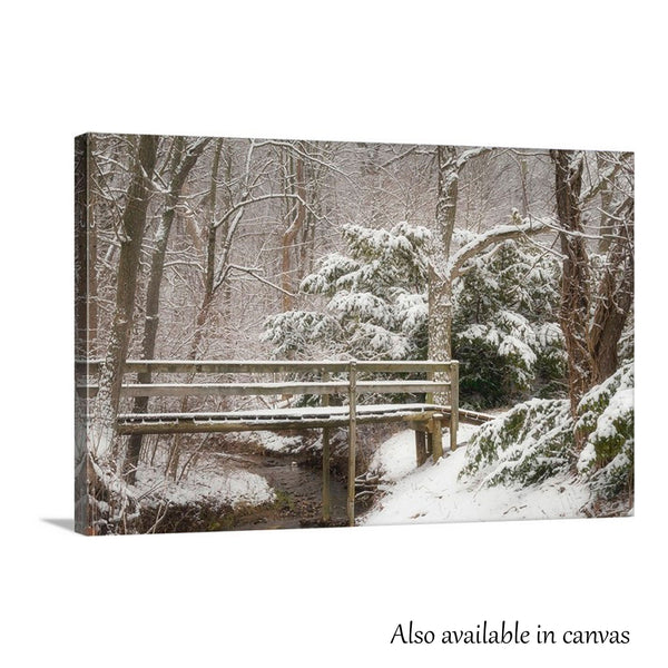 Kiser Lake Footbridge Print