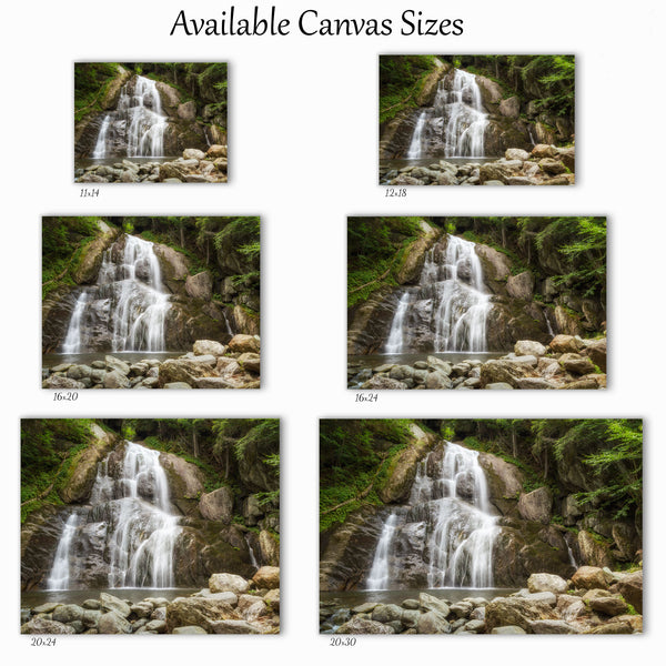 Moss Glen Falls Canvas