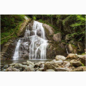 moss glen falls in vermont canvas wall art