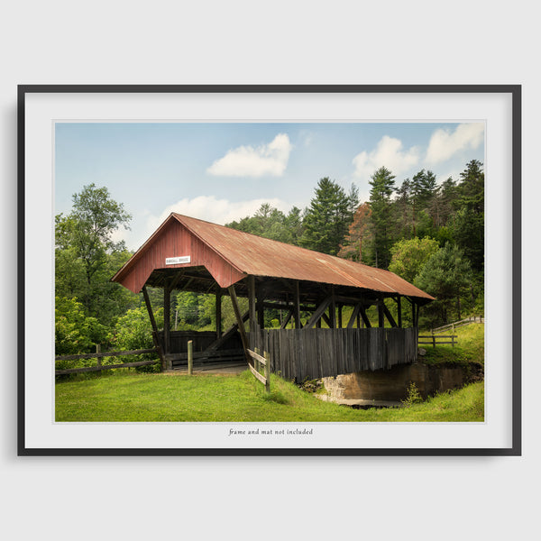 Randall Covered Bridge Print