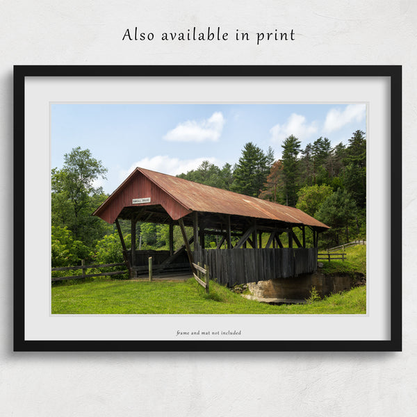 Randall Covered Bridge Canvas