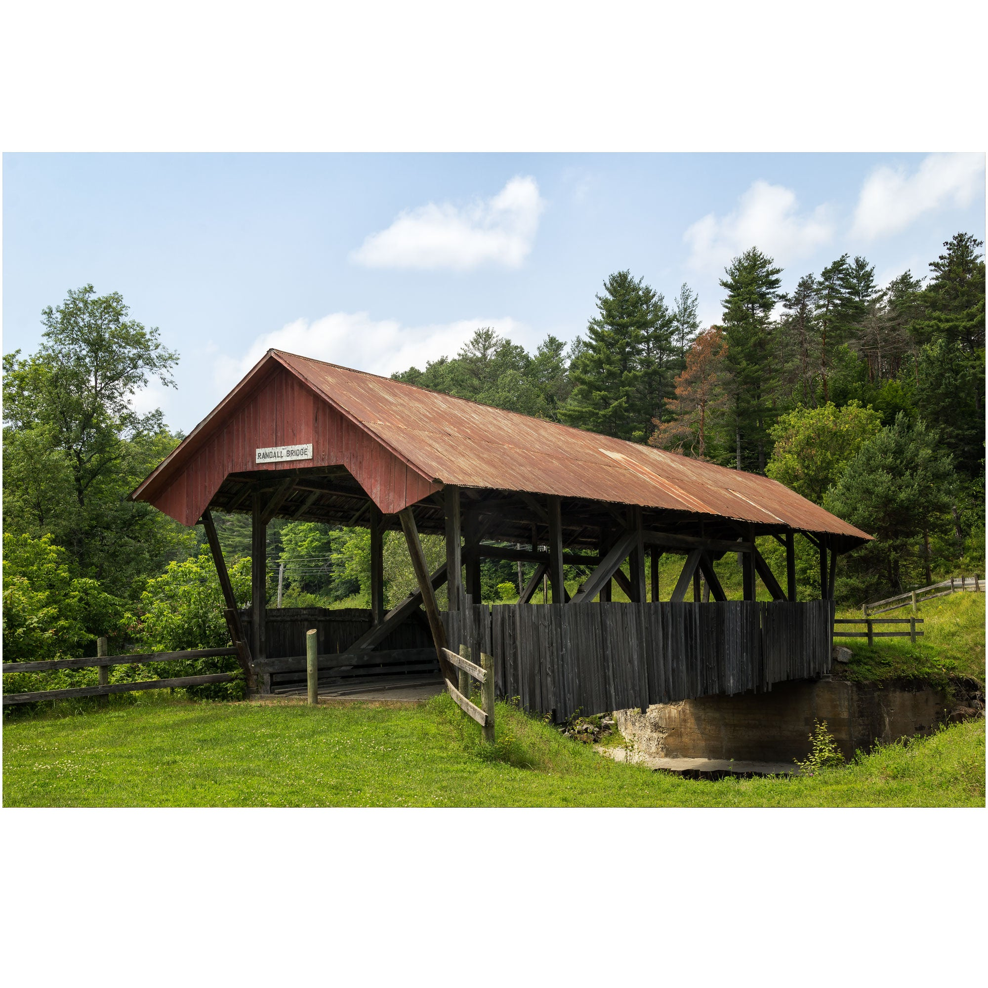 randall covered bridge in vermont