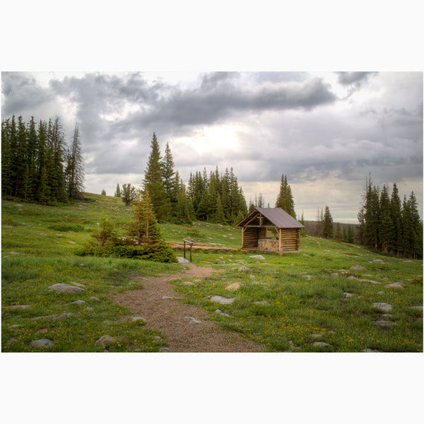 mountain chapel in the medicine bow mountains of wyoming photography