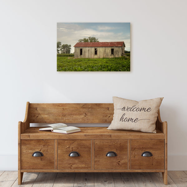 Sharecropper Shack Canvas