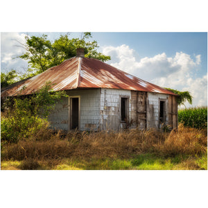 Sharecropper Cottage Mississippi Wall Art