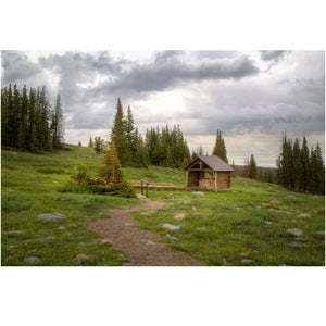 chapel in the Snowy Range Mountains of Wyoming photography