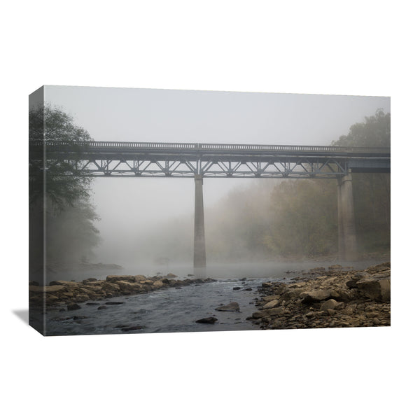 canvas wall art of the Yamacraw Bridge in Kentucky