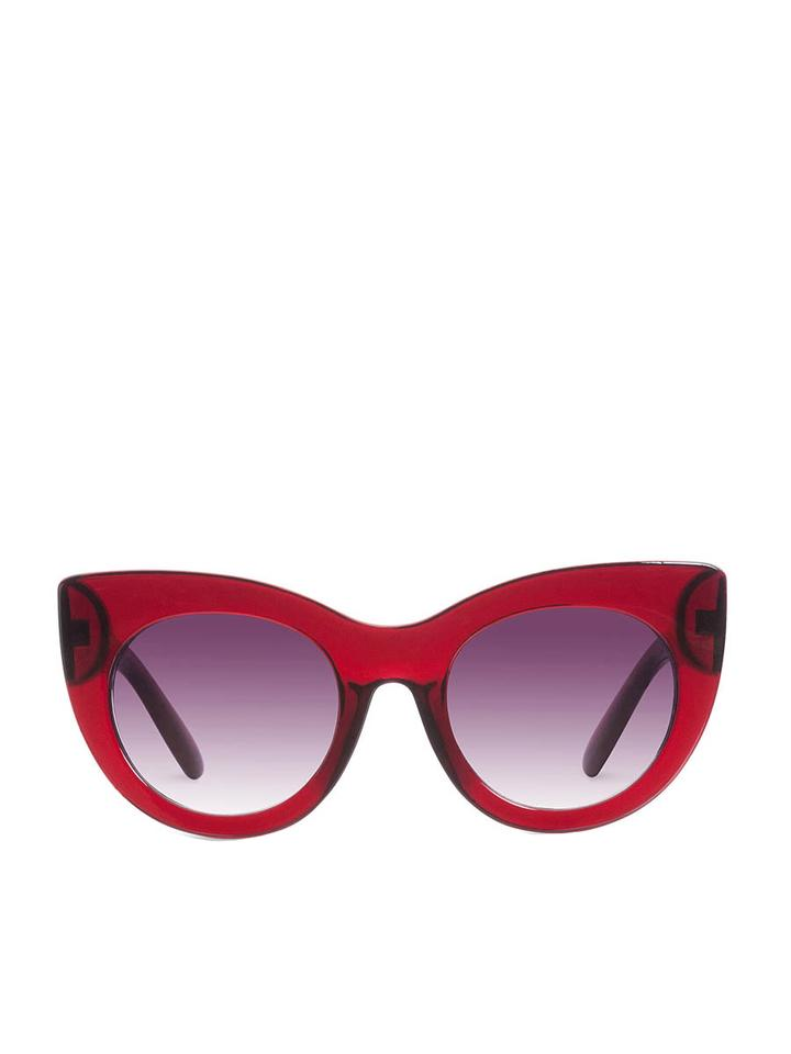 Wild and Free Deep Red Sunglasses