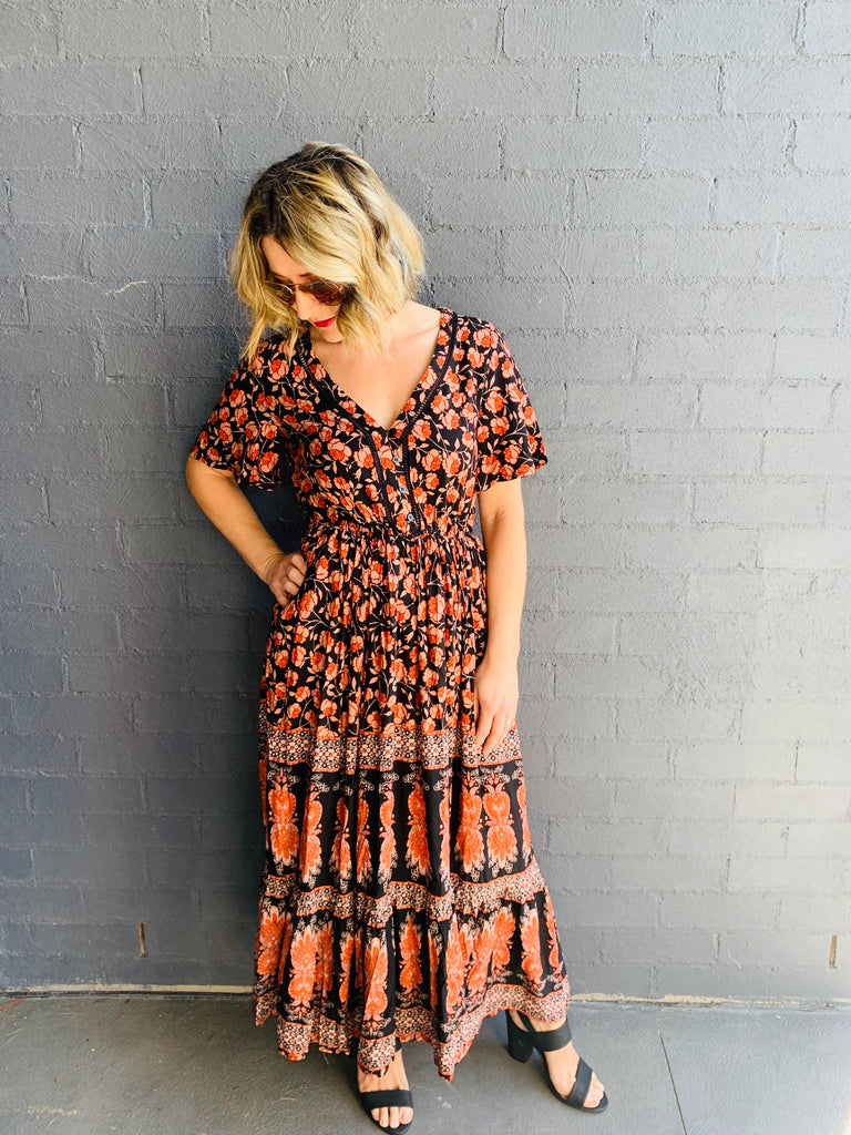 The Stella Festival Maxi Dress