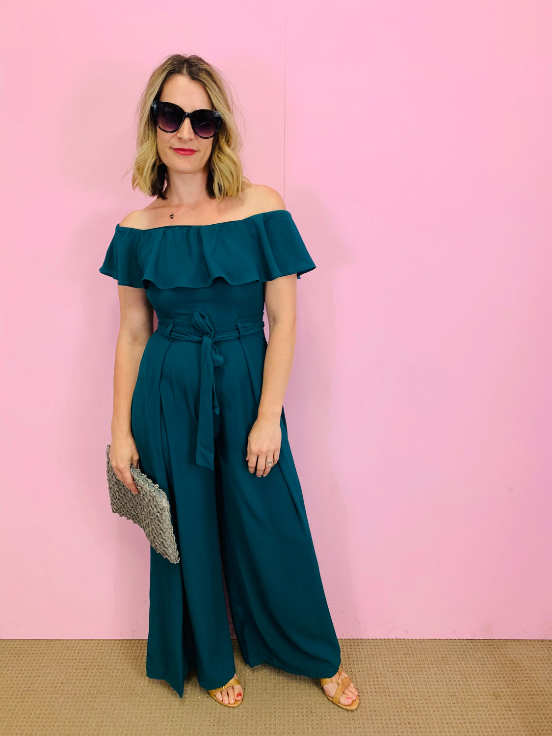Josie off the Shoulder Jumpsuit