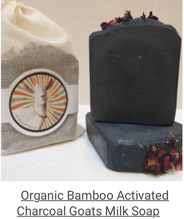 Farmlife Soap - Organic Bamboo Activated Charcoal