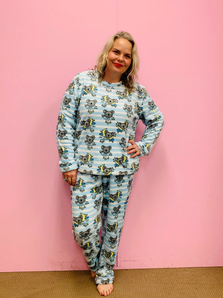 Fleece PJ Set - Koala Love