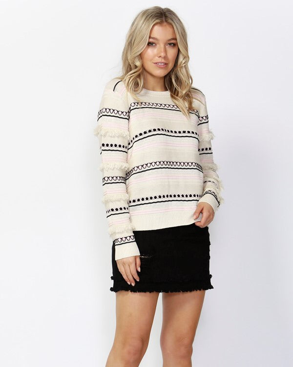 Impression Tassel Sweater