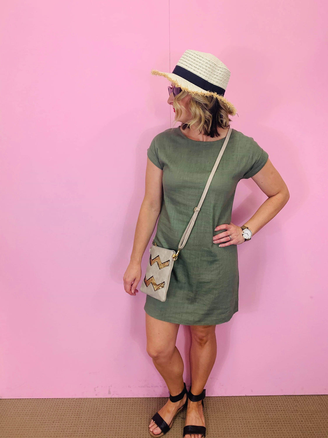 Desert Khaki Dress