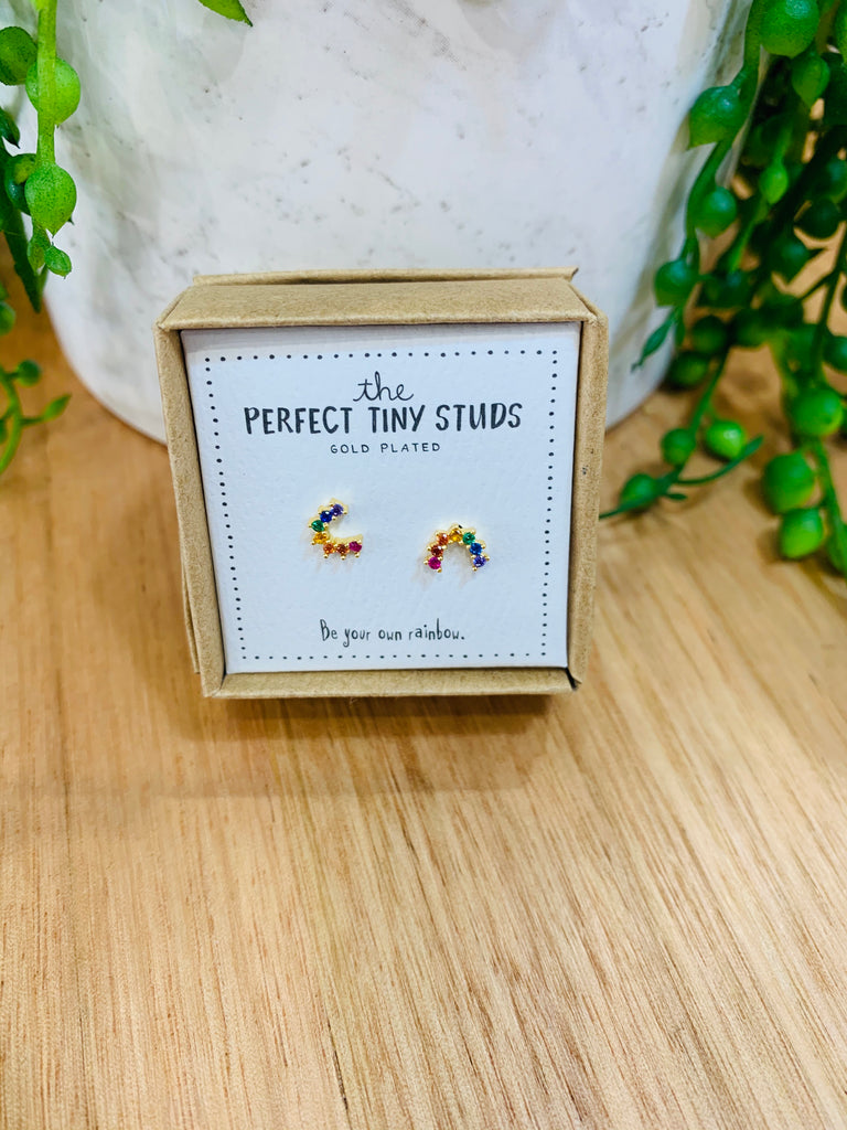 Perfect Tiny Studs - Rainbows