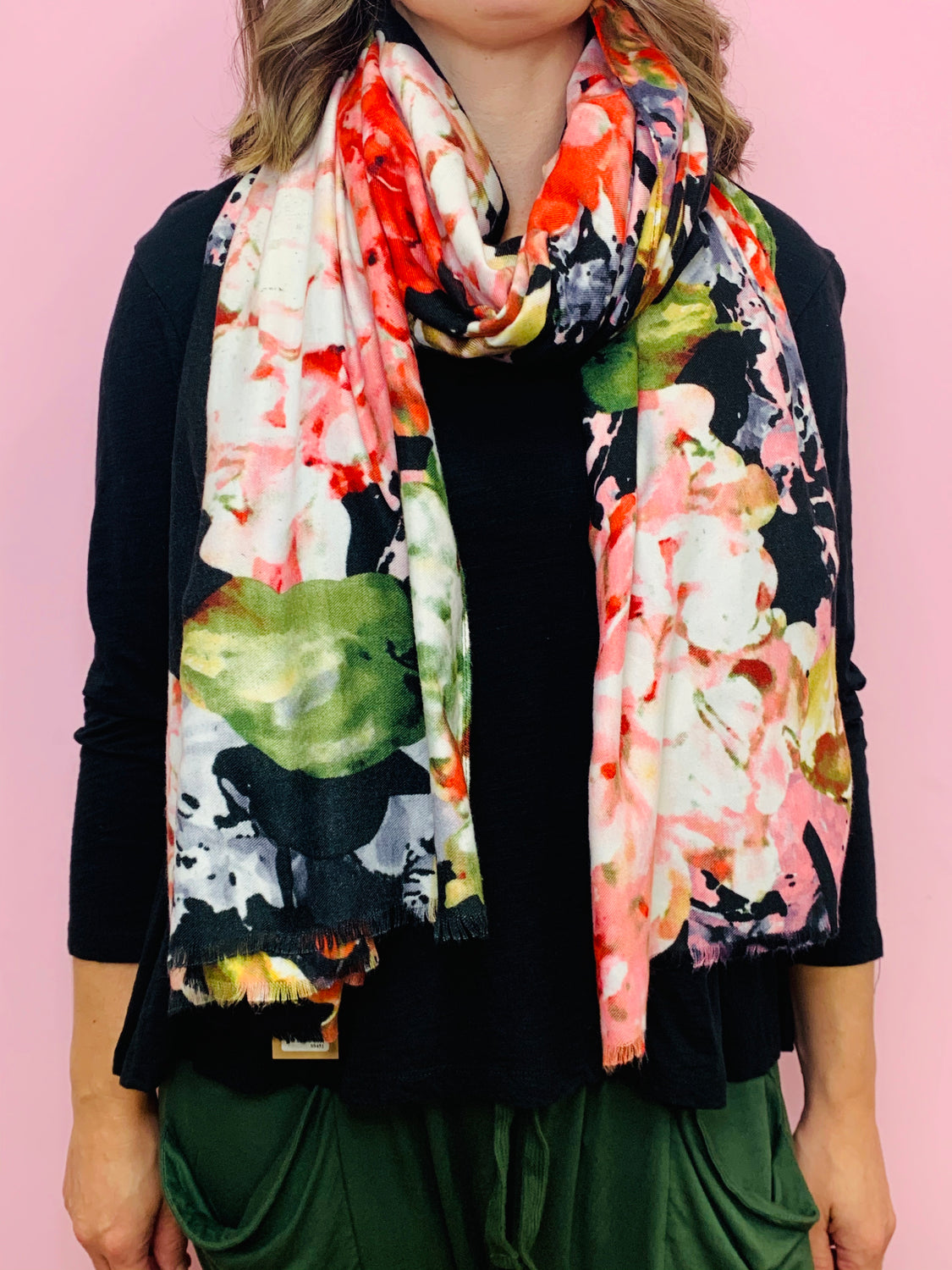 Beautiful Blooms Scarf