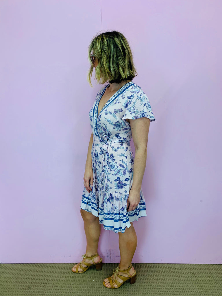 The Carla Wrap Dress
