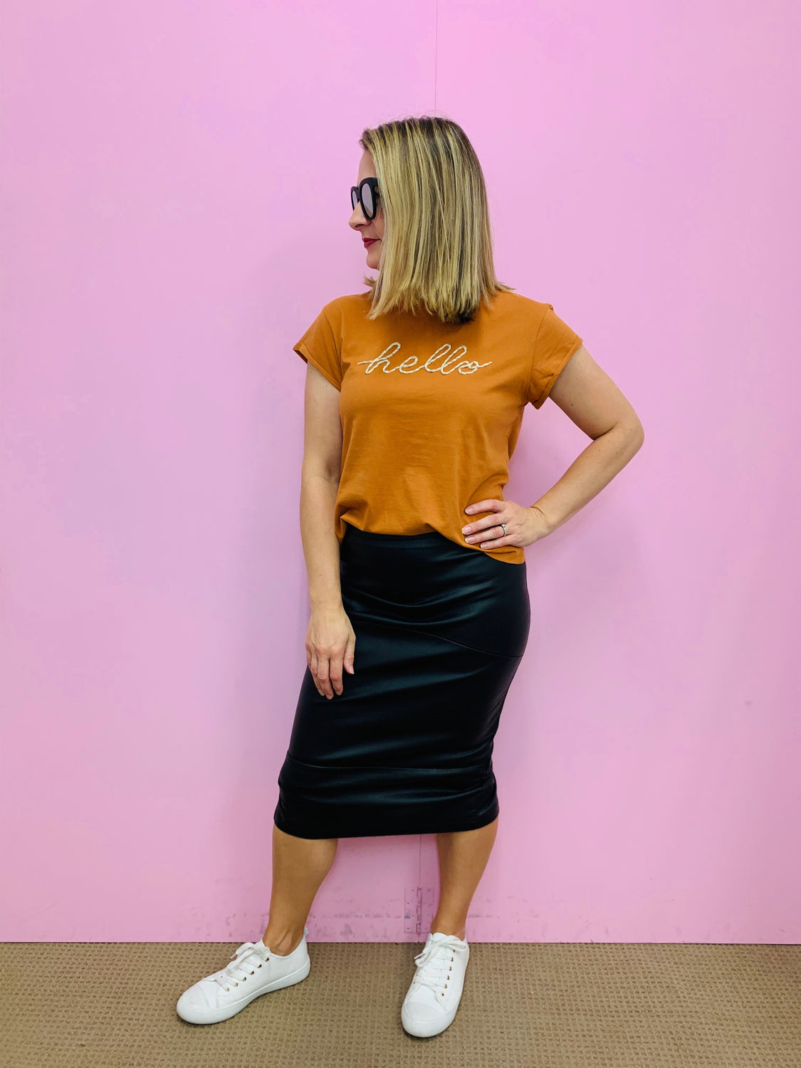 Long Bodycon Skirt