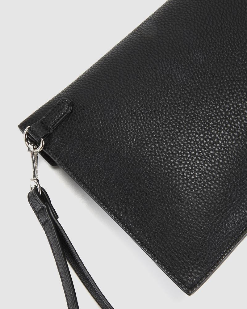 Hendrix Envelope Clutch-Black